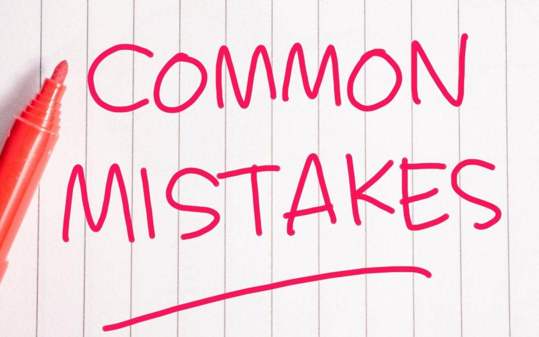 Common Mistakes | Moving Around