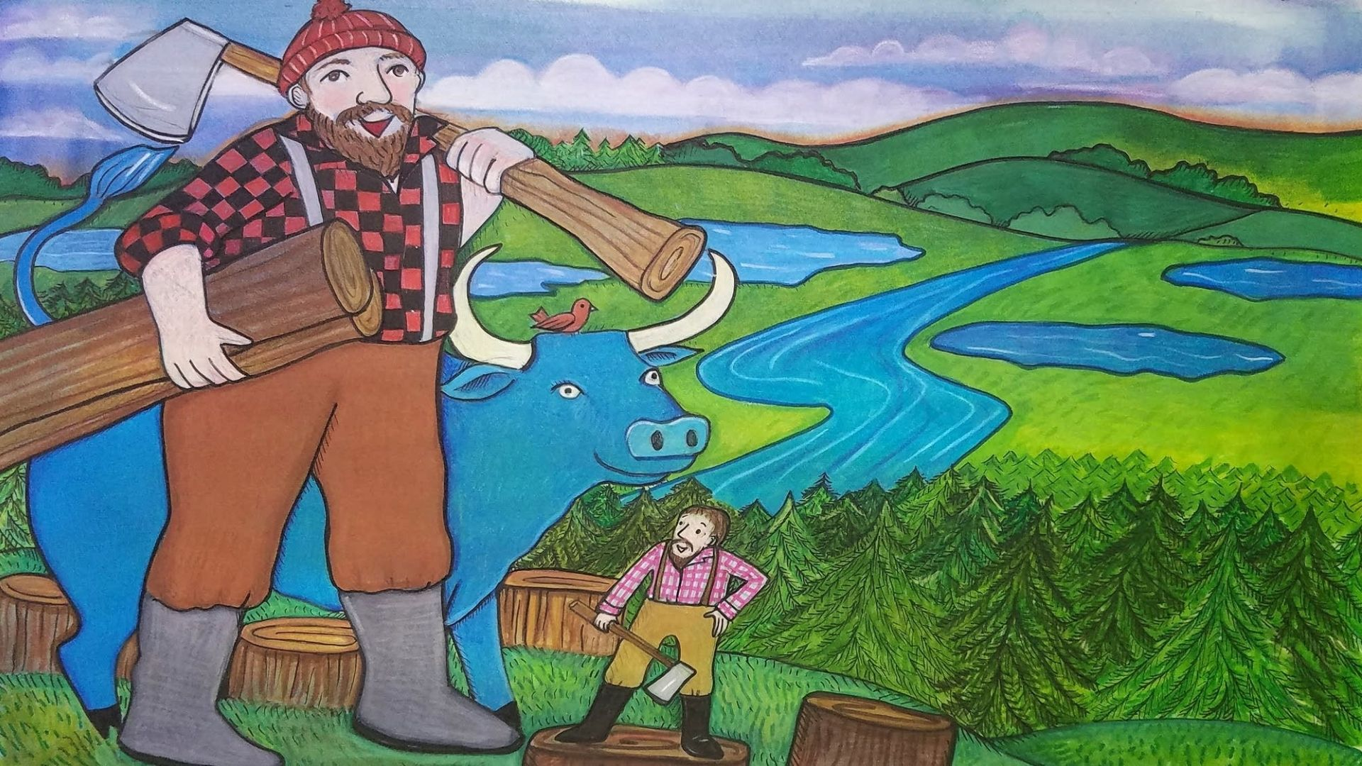 Episode 617 Word Power Paul Bunyan and the Tall Tale